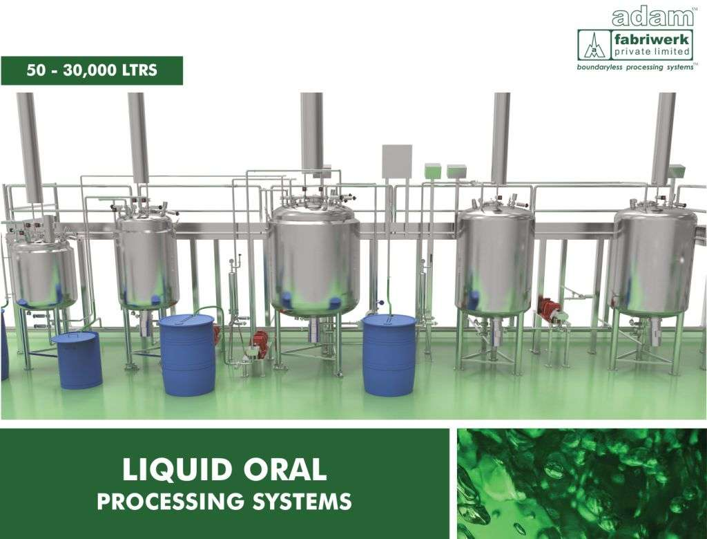 Liquid Oral Processing Systems