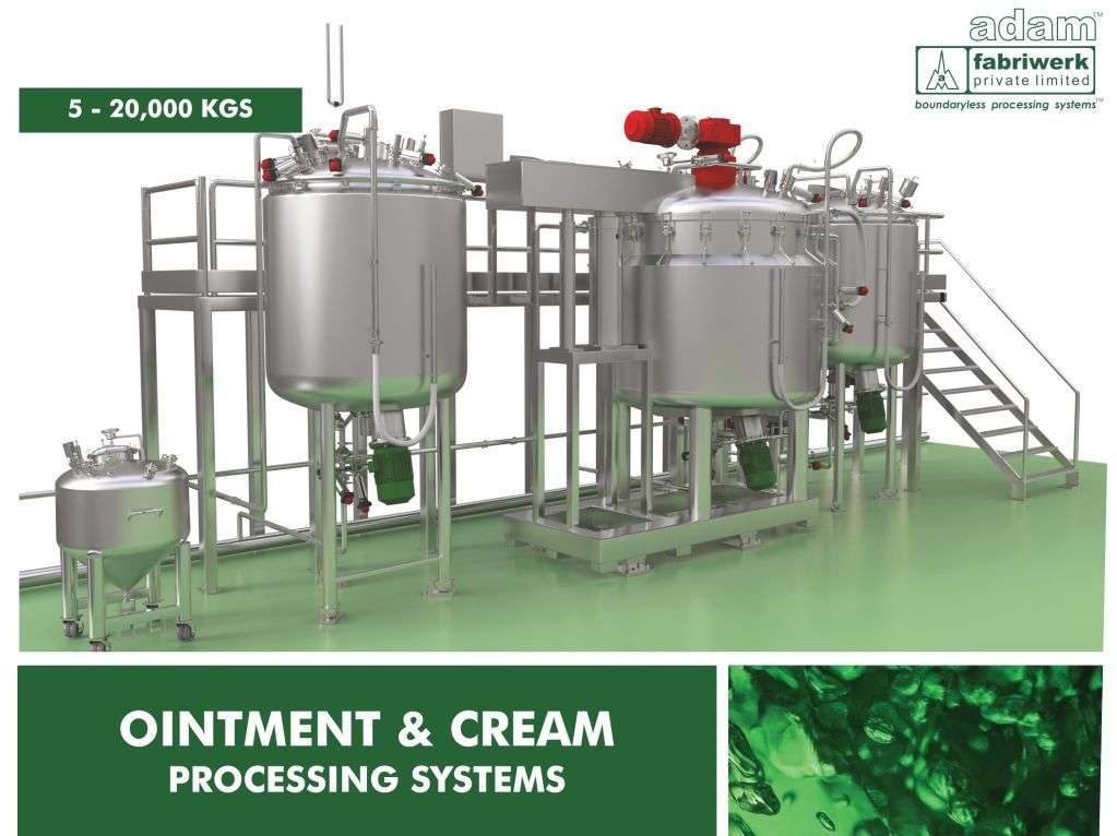 Ointment and Cream Processing System