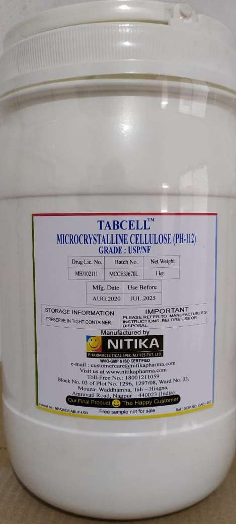 TABCELL - MICROCRYSTALLINE CELLULOSE