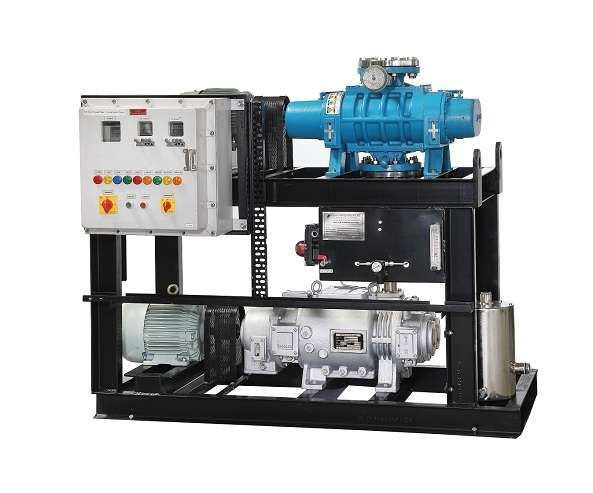 Dry Screw Vacuum System with full automation
