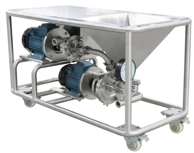 High Efficiency Mixing System