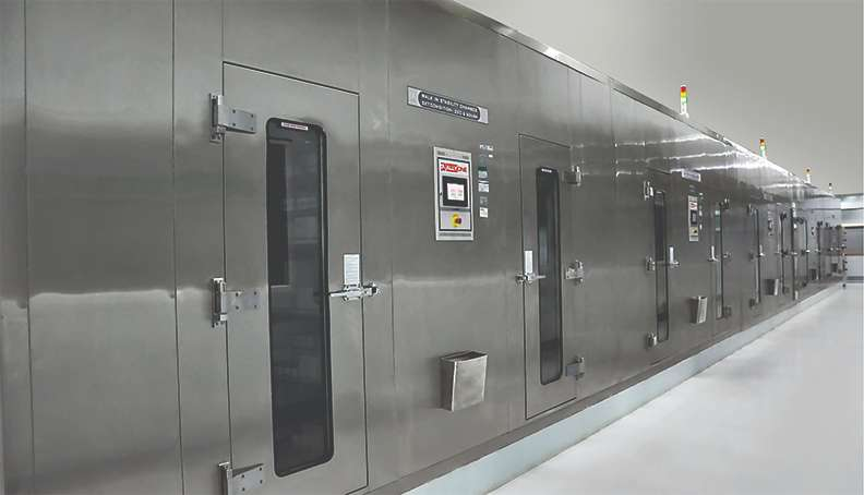Walk-in Stability/Humidity Chamber