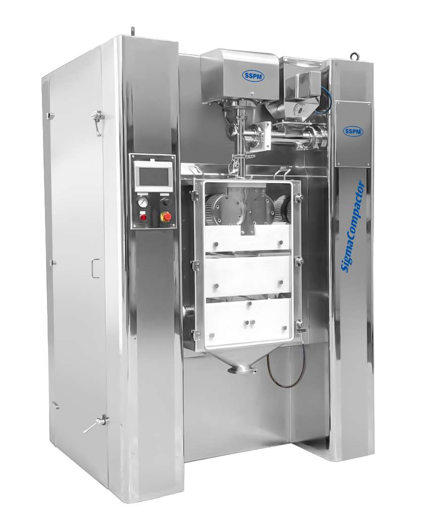 Roll Compactor (Dry Granulator with Dual Stage)