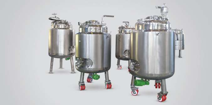 STERILE MIXING VESSELS