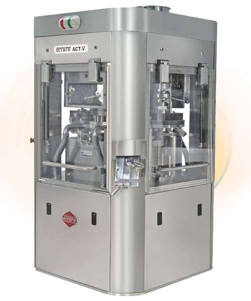 """Tablet Press Machine – High Speed Double Rotary Tablet Press (""""ACCURA"""" MODEL ACT-V)"""