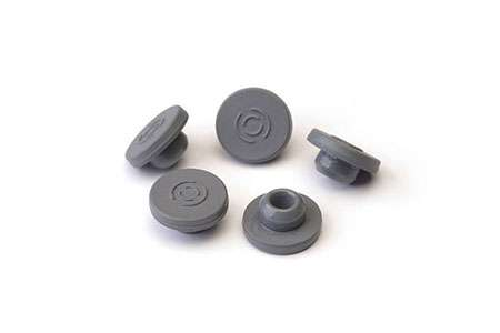 Fluoro Coated Rubber Stoppers