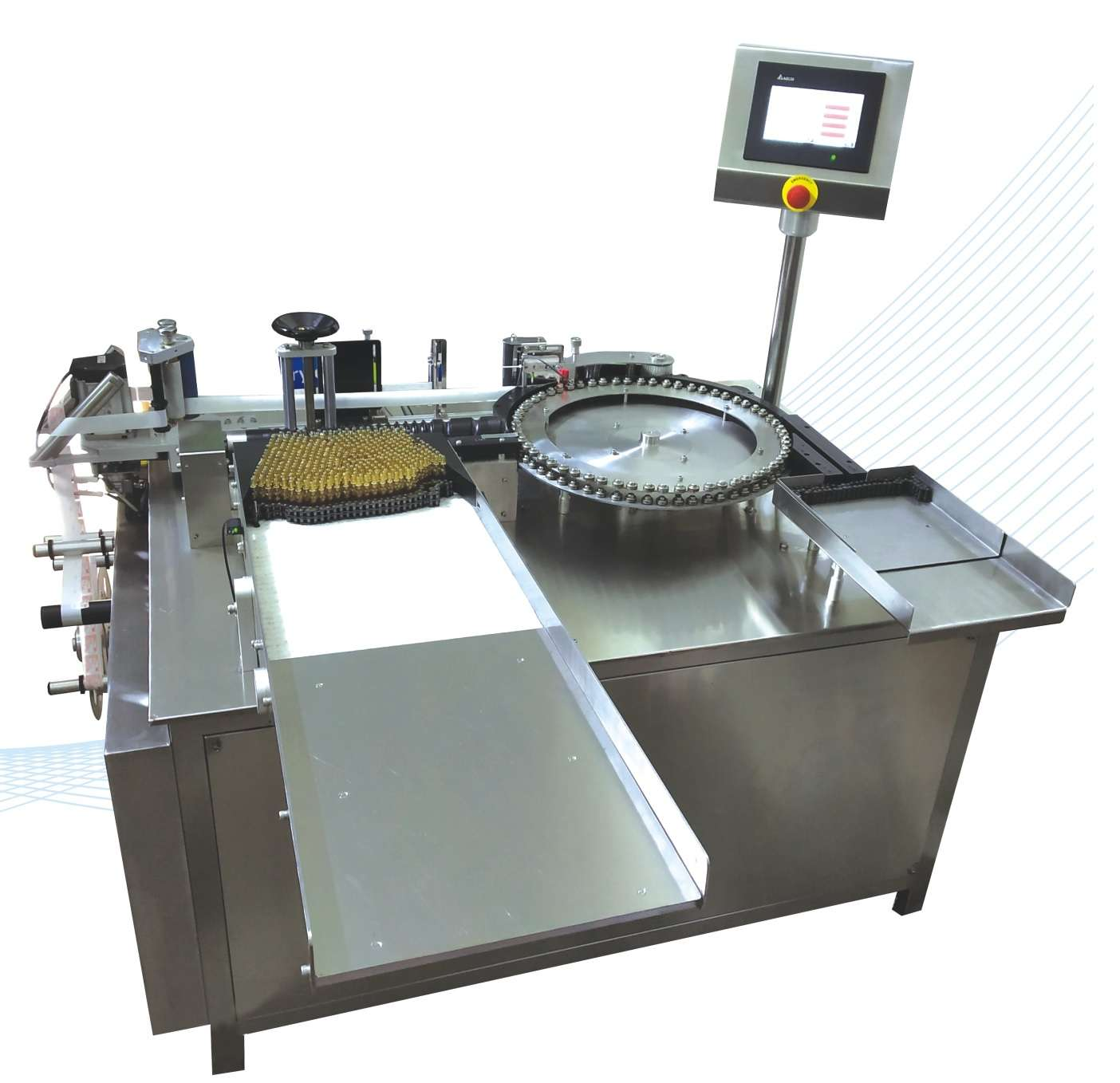 Fully Automatic Labeling Machine