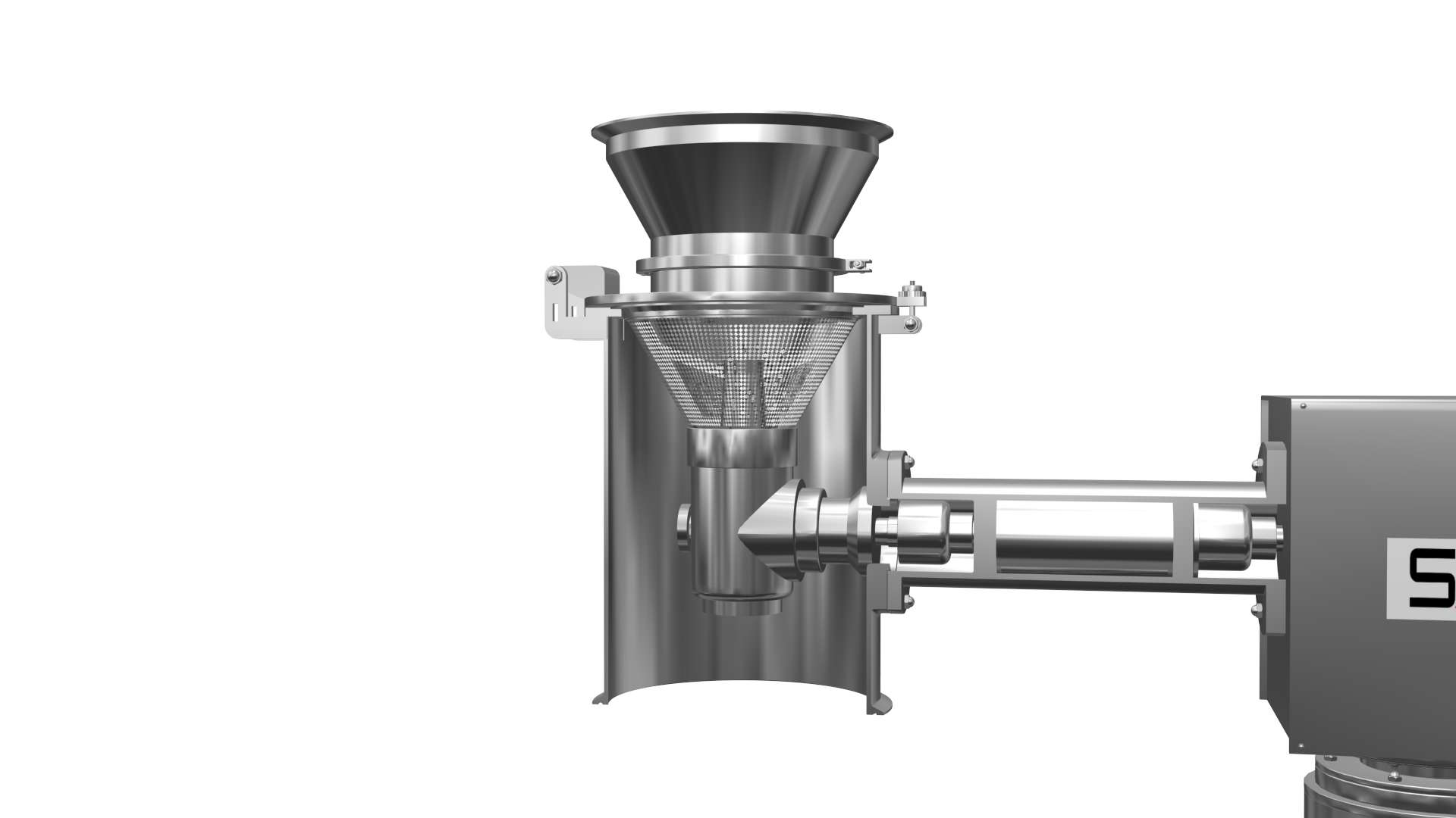 Rotary mill and sifter cum mill