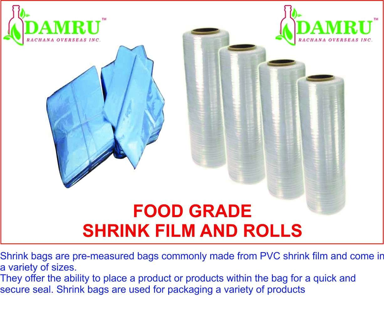 Shrink Packaging Film and Pouch
