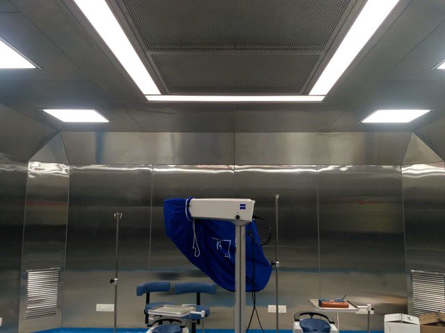 Laminar Flow Operation Theatre Stainless Steel