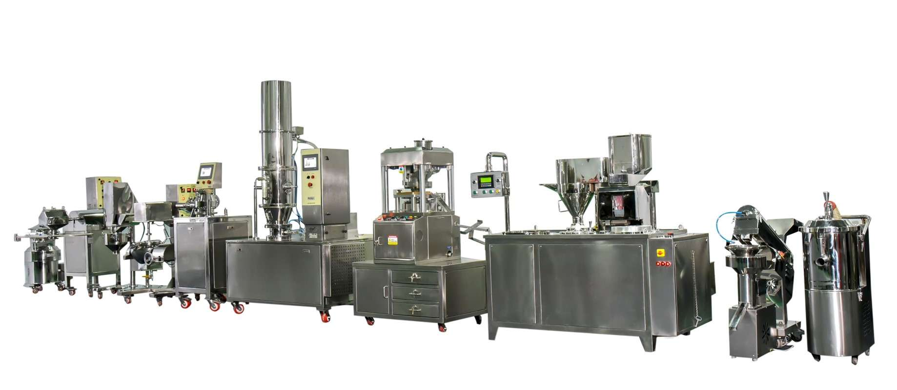 Granulation Equipment- R and D Line