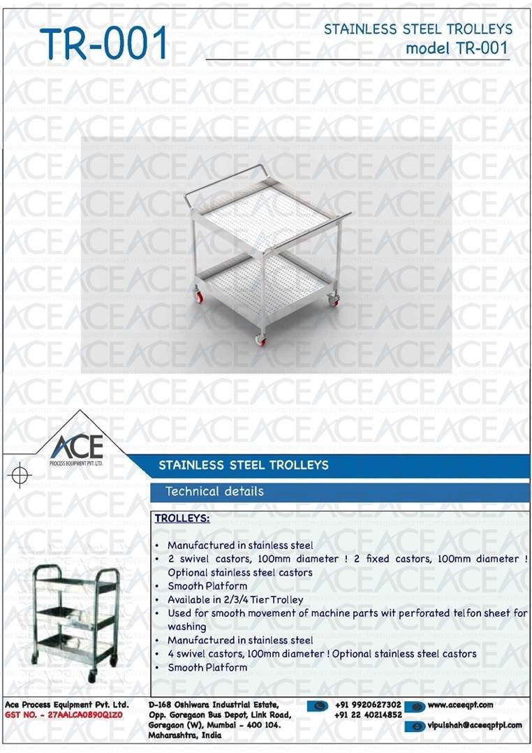 SS CLEANROOM ACCESSORIES