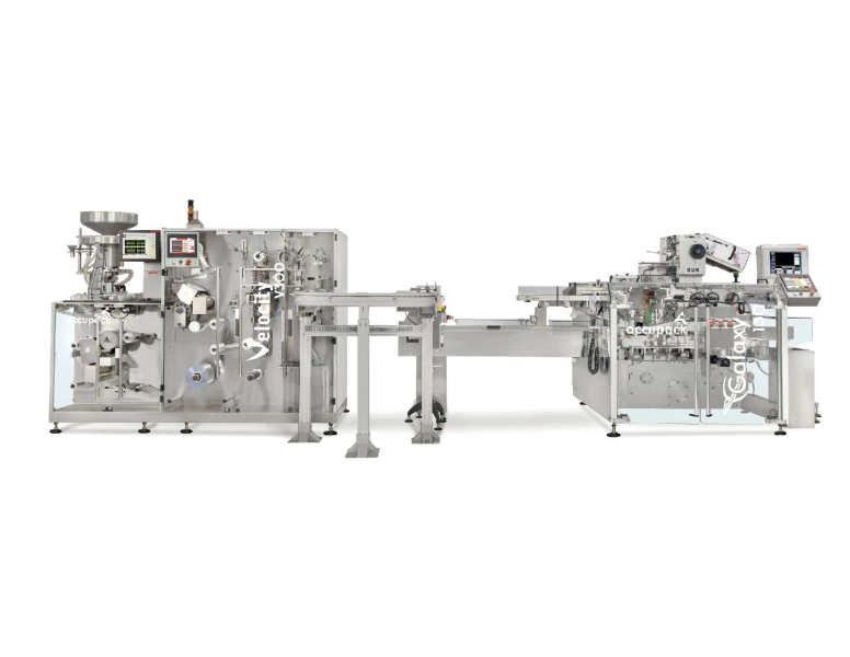 Velocity V300 + Galaxy 130 Blister Packing Line
