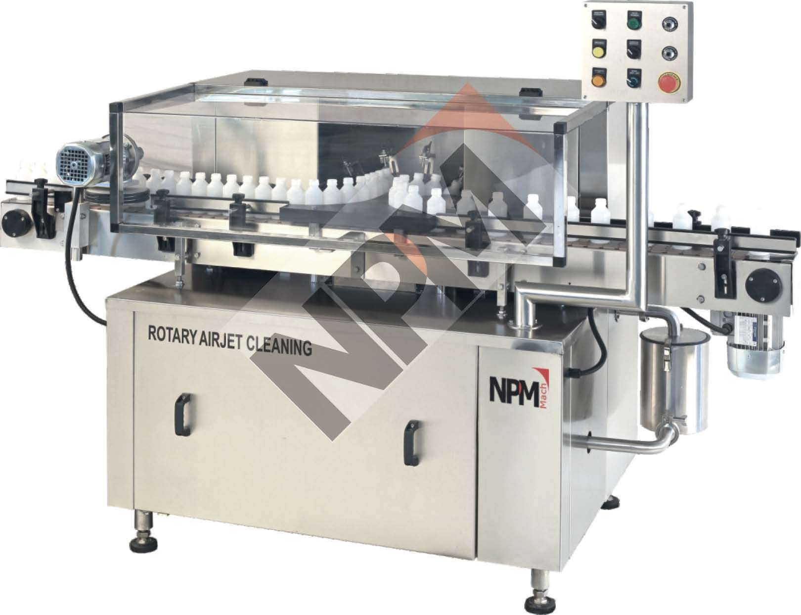 AUTOMATIC ROTARY AIR JET CLEANING MACHINE