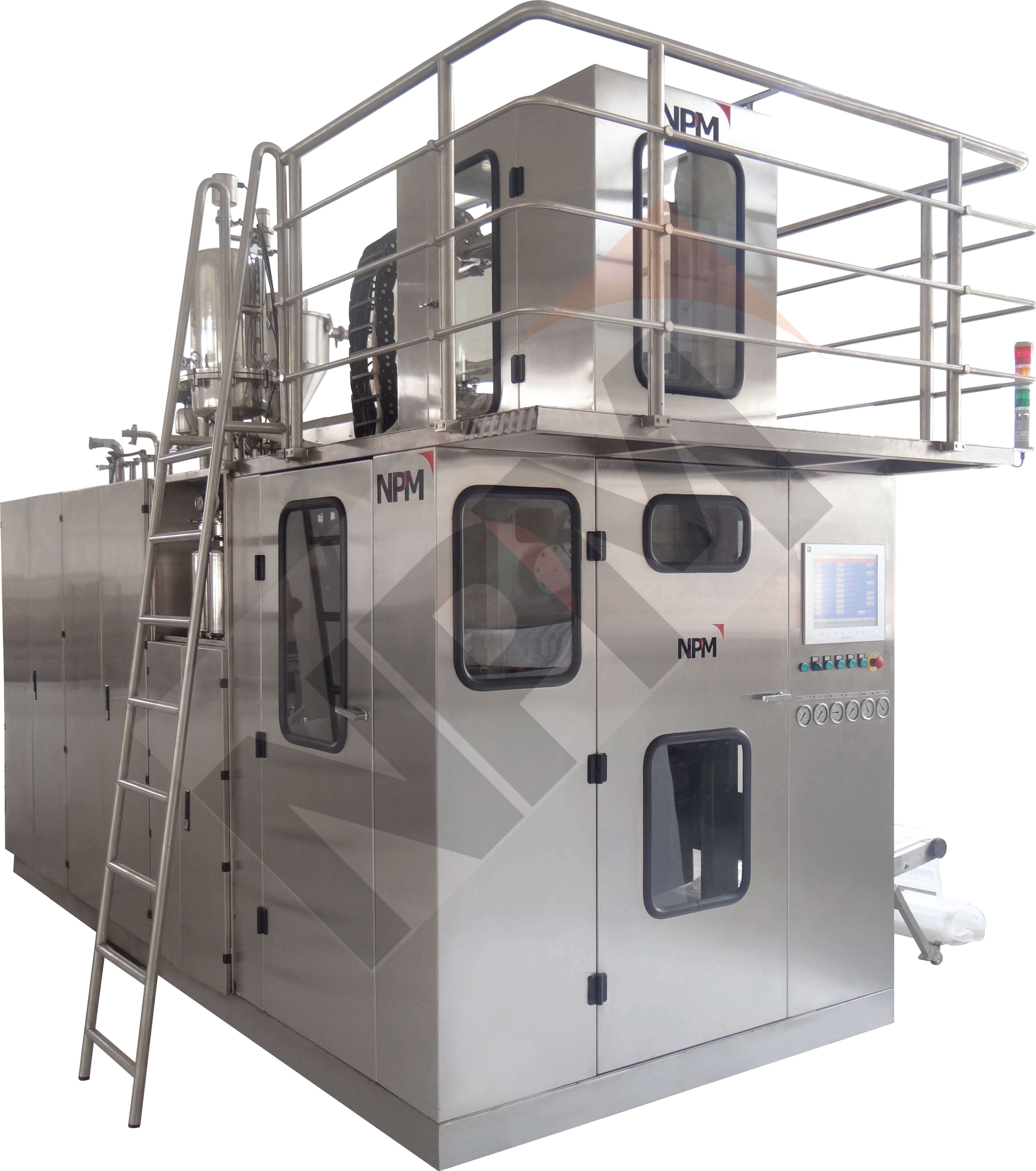 ROTARY BLOW-FILL-SEAL MACHINE (FOR SVP)