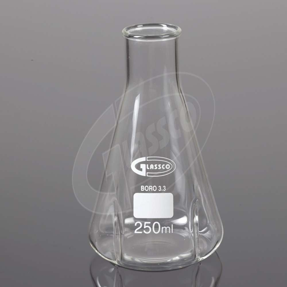Flasks, Conical (Erlenmeyer) Narrow Mouth, DIN ISO