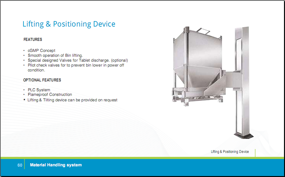 LIFTING & POSITIONING DEVICE