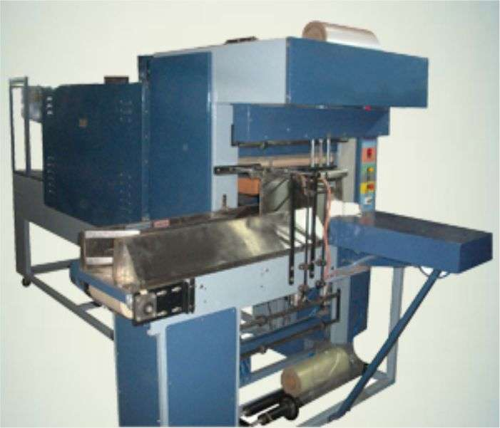 Automatic Shrink Wrapping Machine with Collator for Bottles