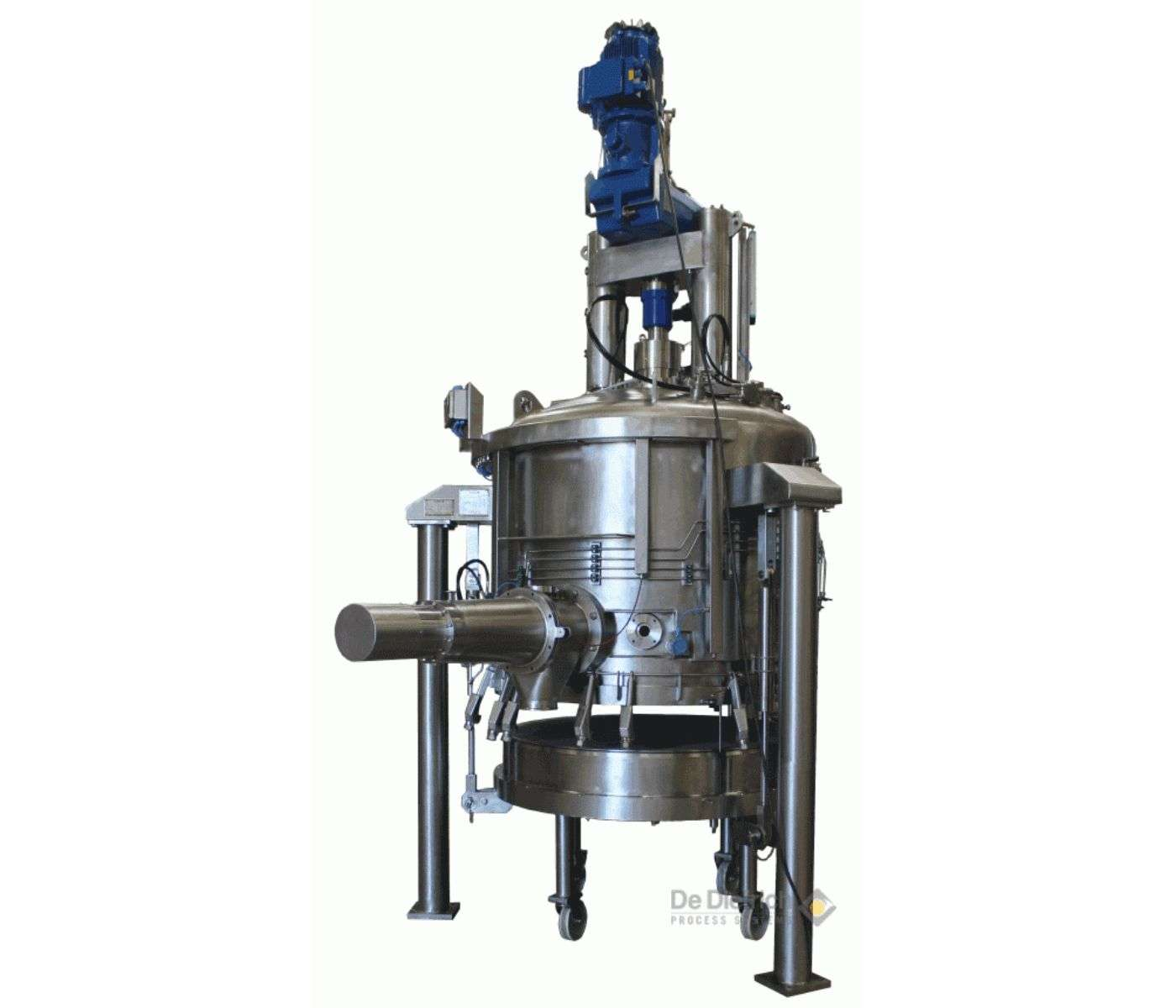 AGITATED NUTSCHE FILTER AND FILTER-DRYER