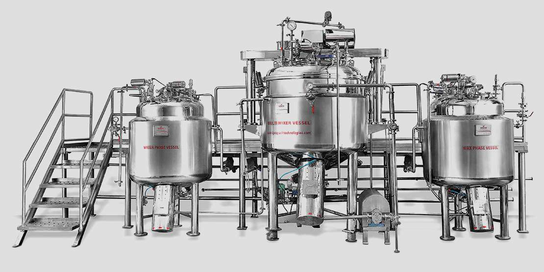 Ointment / Cream Processing Plant