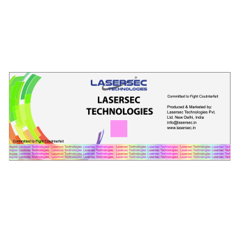 Holographic Label with Thermo Chromatic Ink