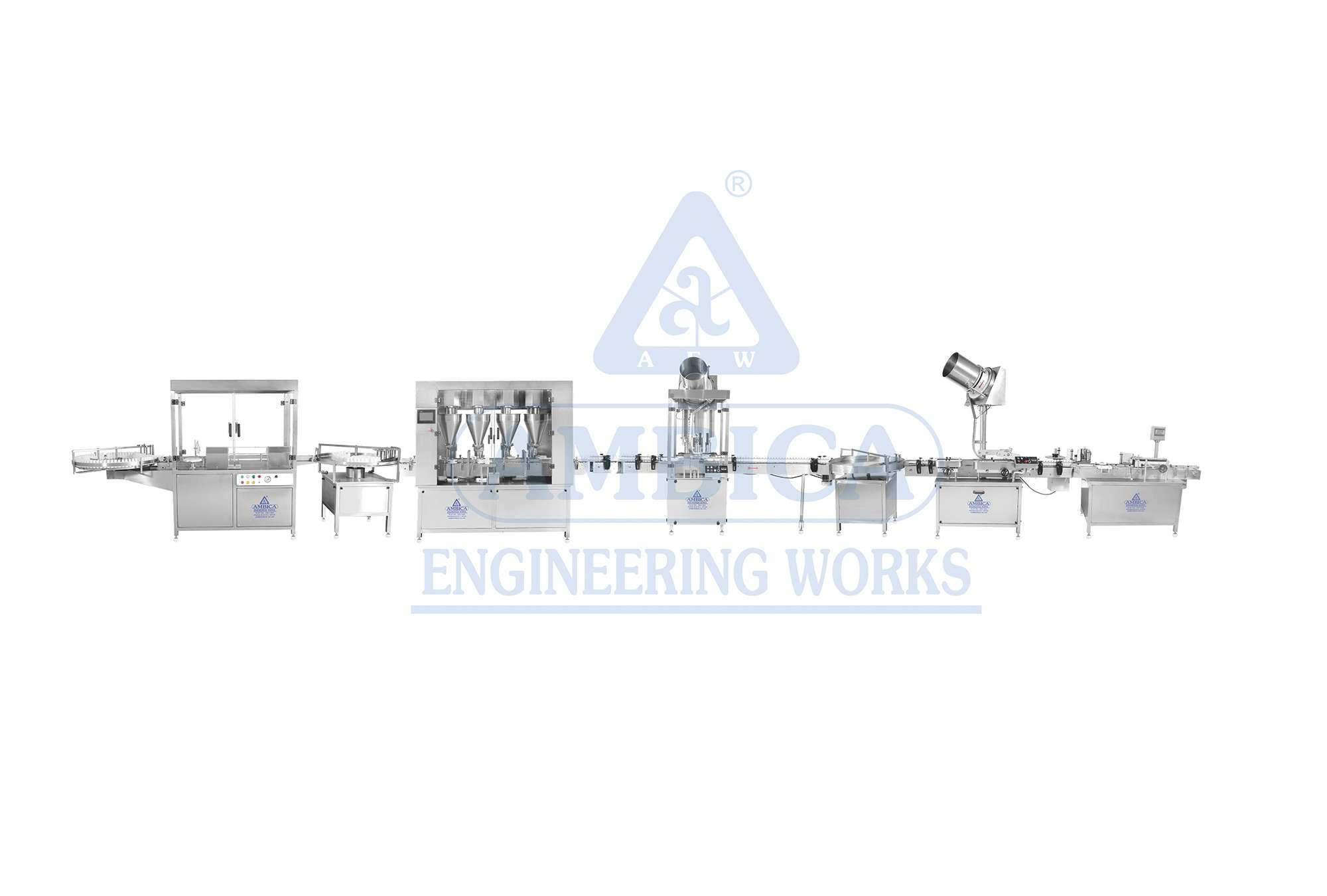 AMBICA High Speed Auger Filling Line