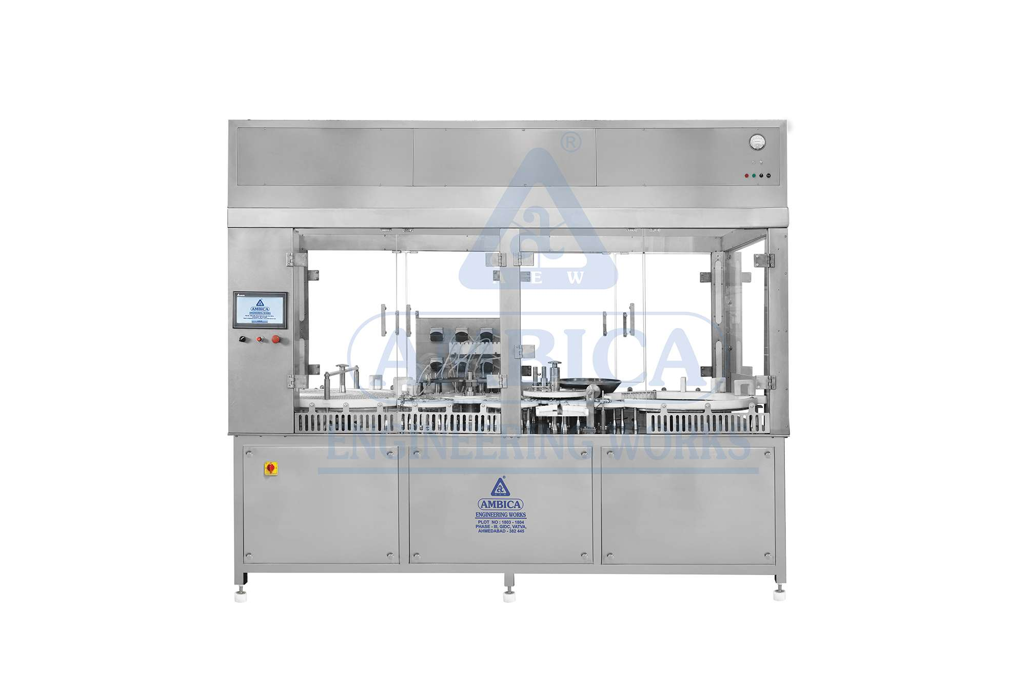 AMBICA High Speed Rotary Motion Filling Machine