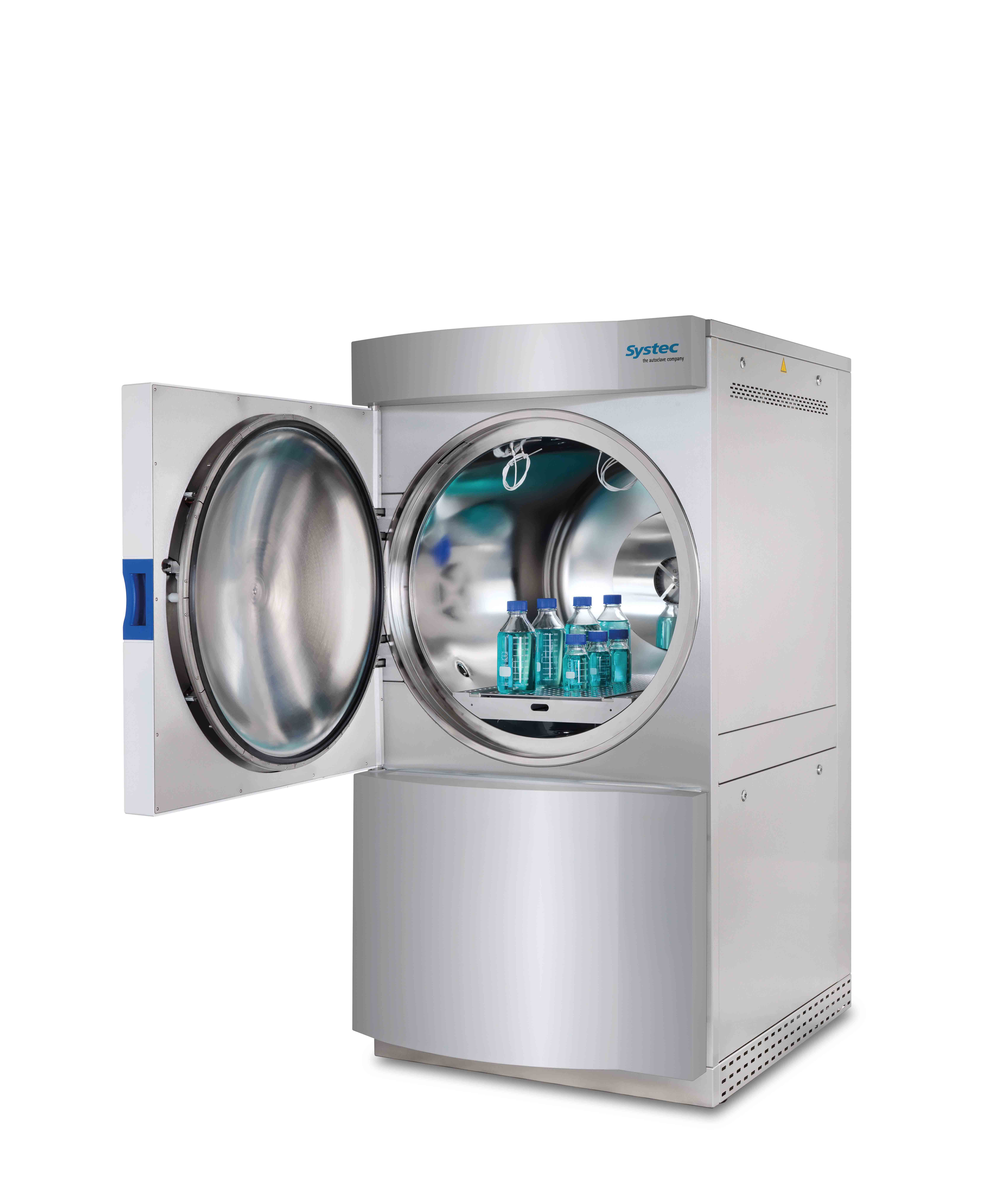 HORIZONTAL FLOOR-STANDING AUTOCLAVES SYSTEC H-SERIES