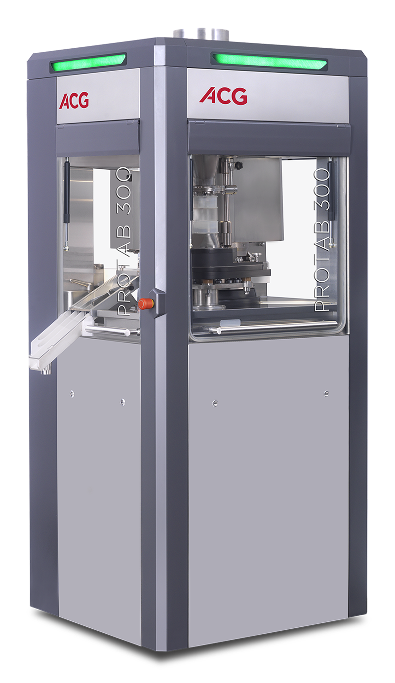 Single rotary pilot-scale tableting machine